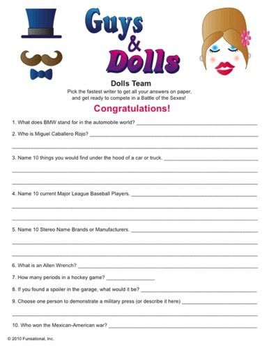 Charming Co Ed Baby Shower Games   I Like This Idea Of Male Vs. Female Instead Of  Strictly Baby Related. I Would Change The Questions To Things Matt And I  Might ...