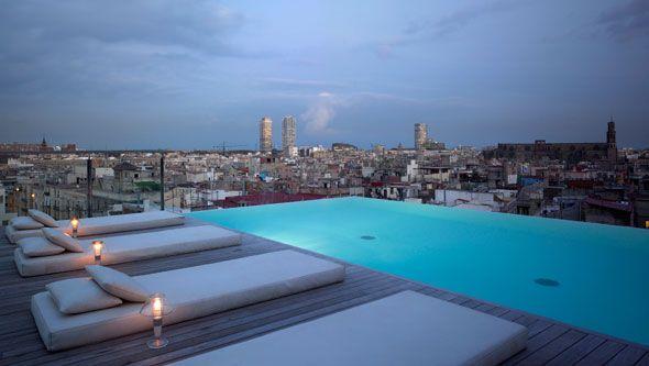 Construccion de piscinas infinity en azoteas buscar con google atico piscina barcelona - Hoteles con piscina en barcelona ...