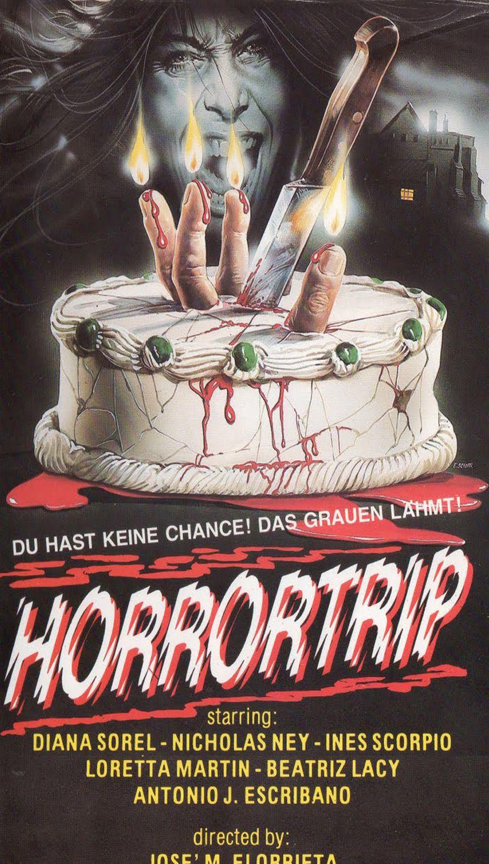 John Chambliss Burial Ground Horror movie poster print