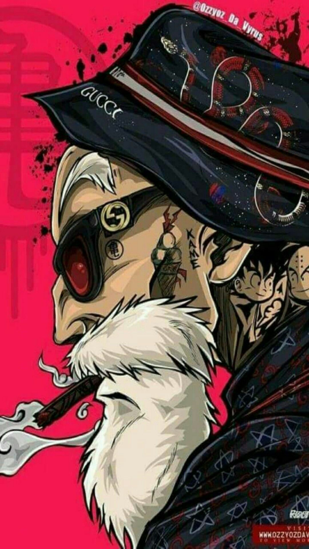Bem Gangster Papel de parede de arte, Arte anime
