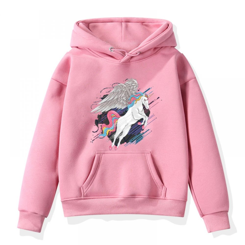 Kids Boys Girls Unicorn Print Sweatshirt Hoodies Printed Sweatshirts Girl Sweatshirts Sweatshirts [ 1000 x 1000 Pixel ]