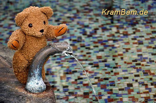 Foto des Tages: Pyrmonter Wasser direkt aus der Quelle | KramBam