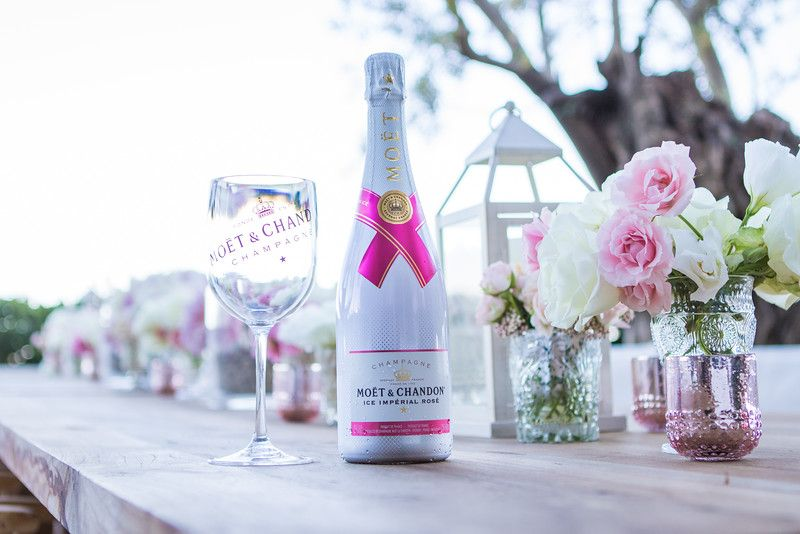 Moet and Chandon Ice Imperial Rose for your Pink Theme Wedding