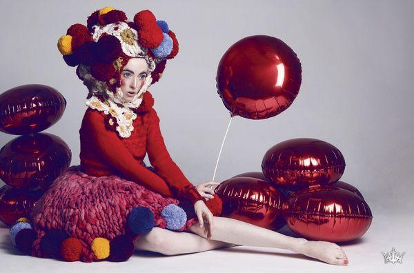 絢麗色彩的藝術時尚攝影 - Pauline Darley_KAIAK 城市美學的新態度