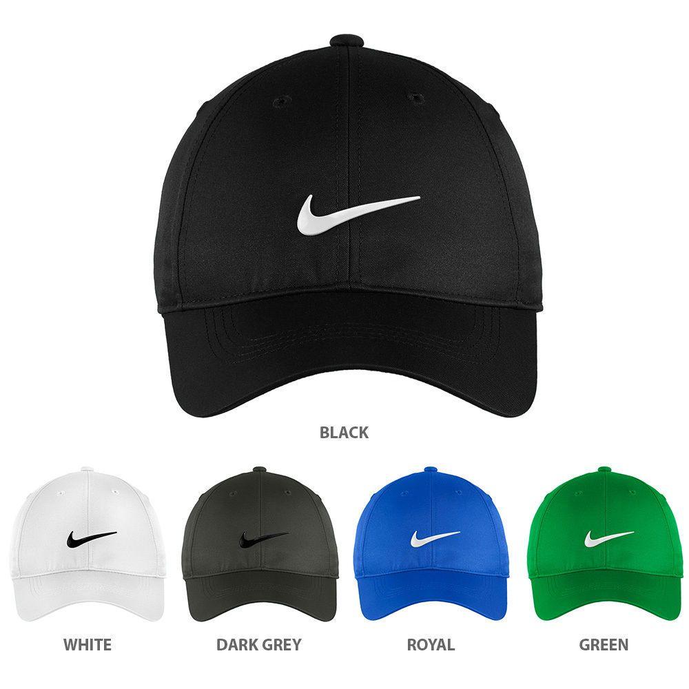 49751d229 Nike Authentic Dri-Fit Low Profile Swoosh Front Adjustable Cap ...