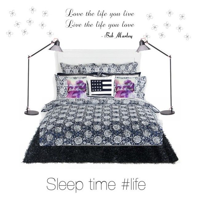 """Sleep time"" by jassandrea ❤ liked on Polyvore featuring interior, interiors, interior design, home, home decor, interior decorating, Lexington and One Bella Casa"