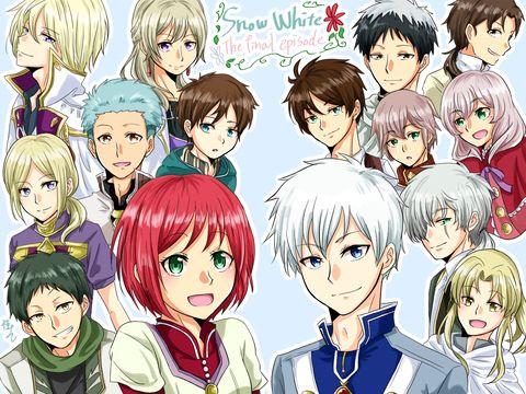 Akagami No Shirayukihime Snow White With The Red Hair Anime And Manga Snow White With The Red Hair Akagami No Shirayukihime Akagami No