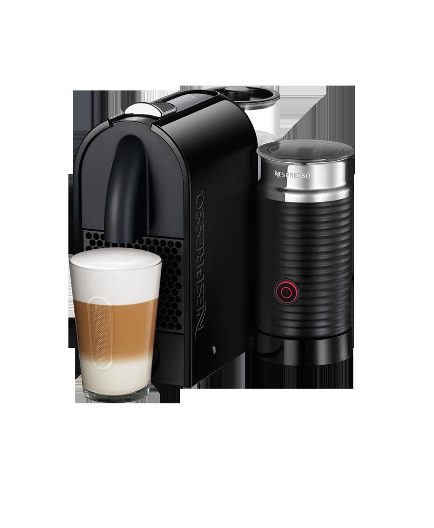 Nespresso Umilk DeLonghi Pure Black Coffee machine