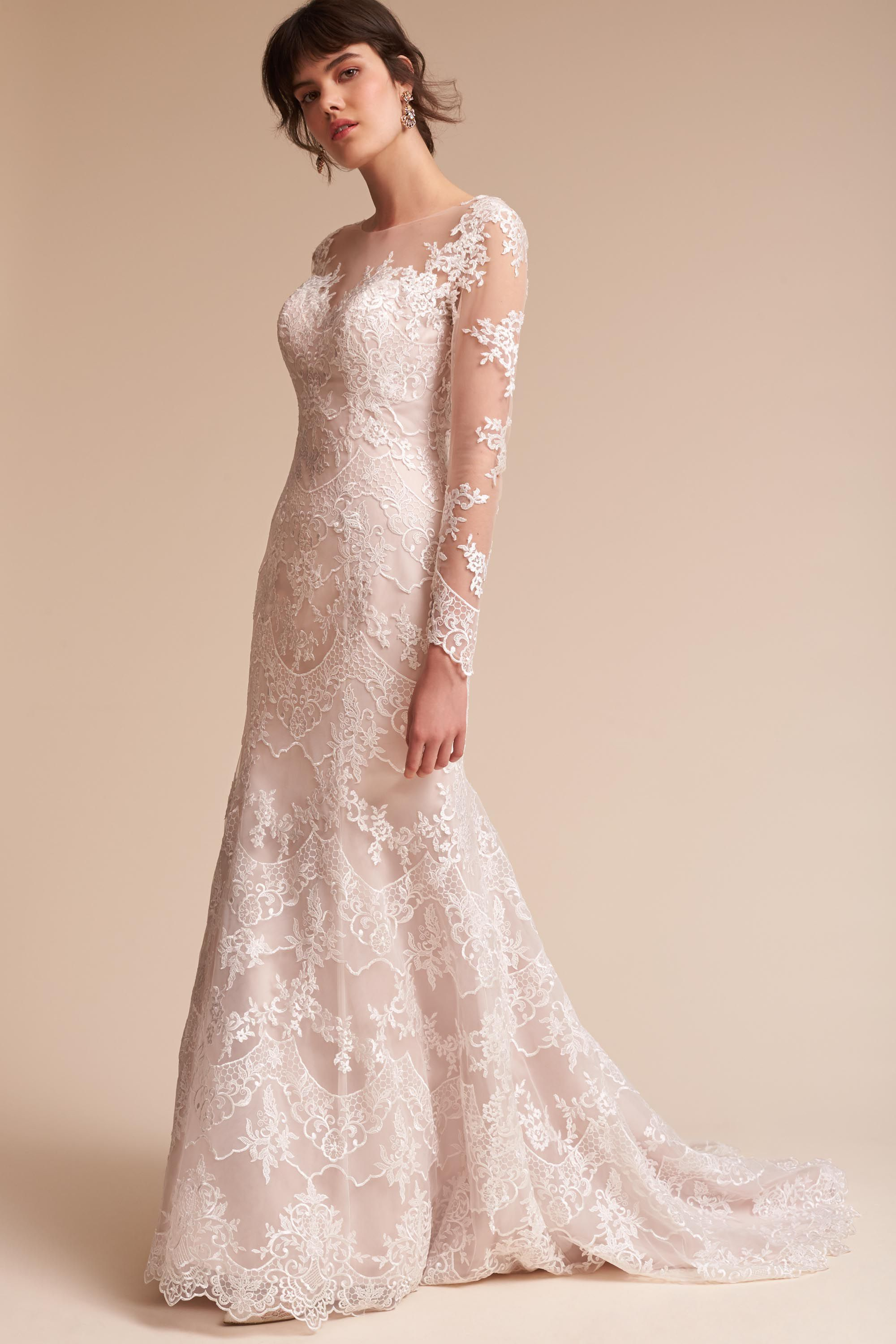 5bdb0f60649f Godfrey Gown from @BHLDN Wedding dresses with a vintage feel ...
