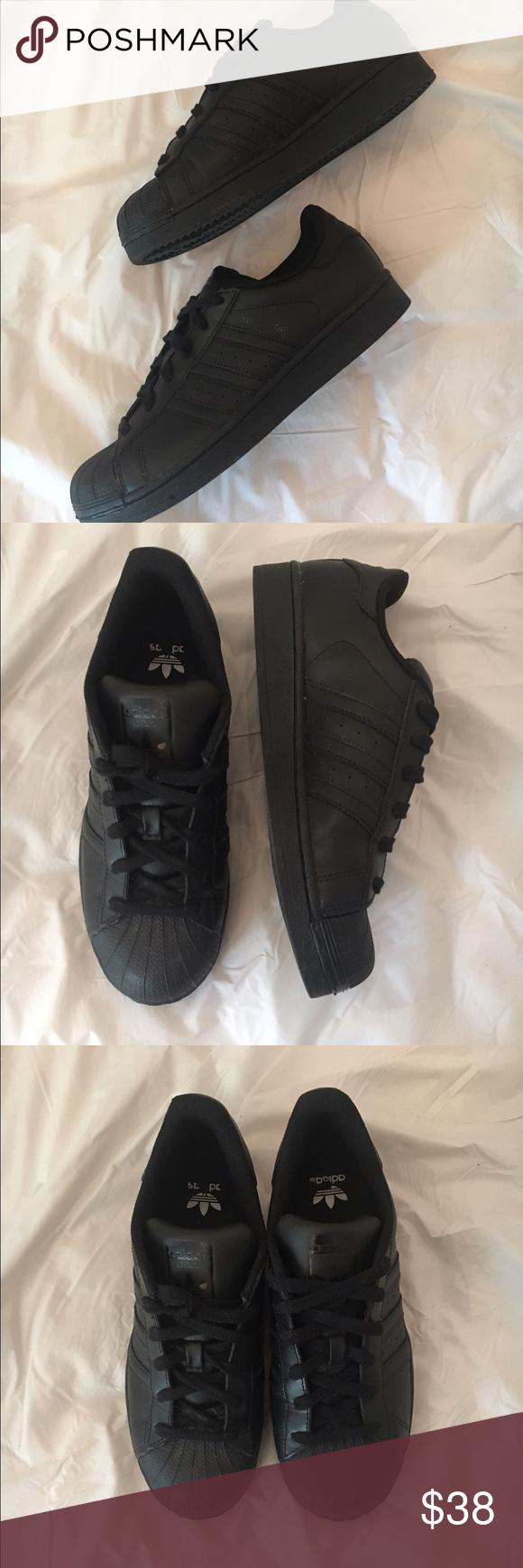 adidas superstar scarpe pinterest black adidas superstar
