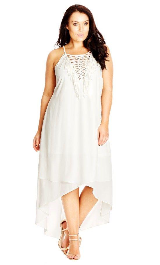 12 Plus Size White Party Dresses Fabulous Styles Pinterest