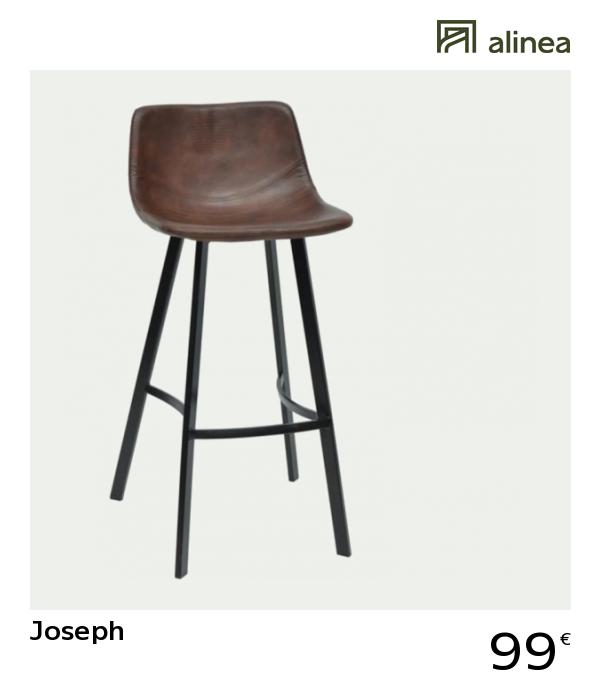 chaise de bar joseph