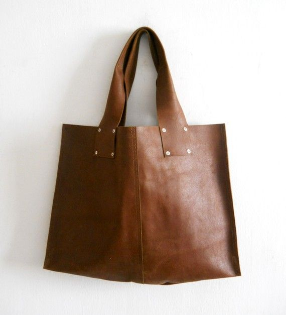 Oversize Leather Tote Bag For Every