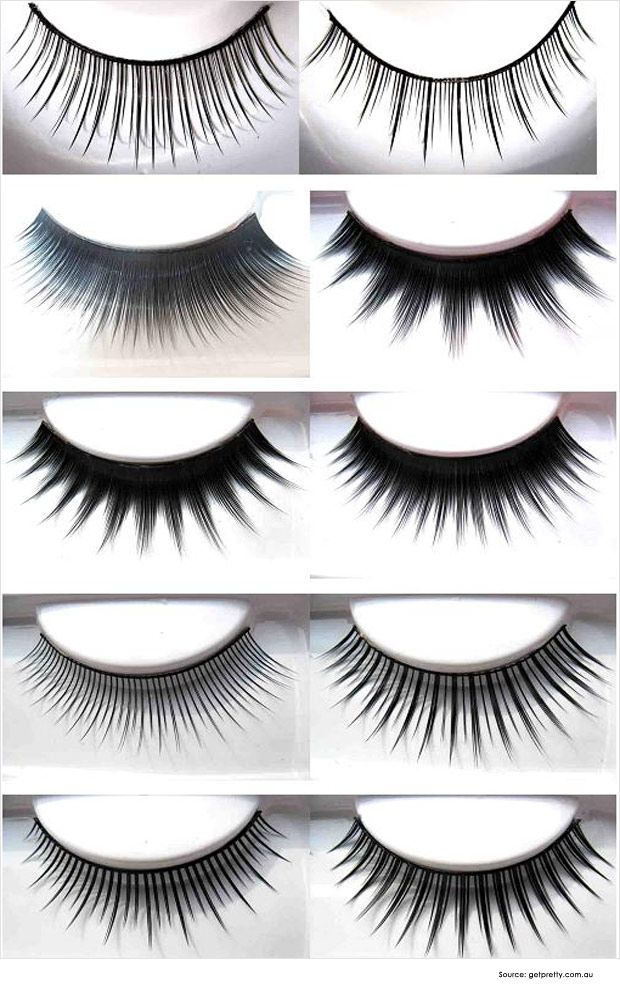 How To Apply Fake Eyelashes Types Beauty Fake Eyelashes