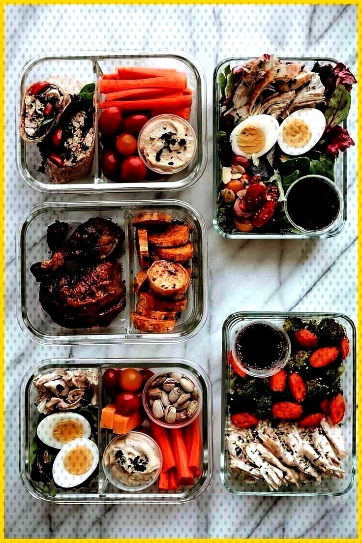 Meal Prep 5 Easy Lunches 5 Easy Meals to Prep with 1 Rotisserie Chicken Healthy lunches that help y
