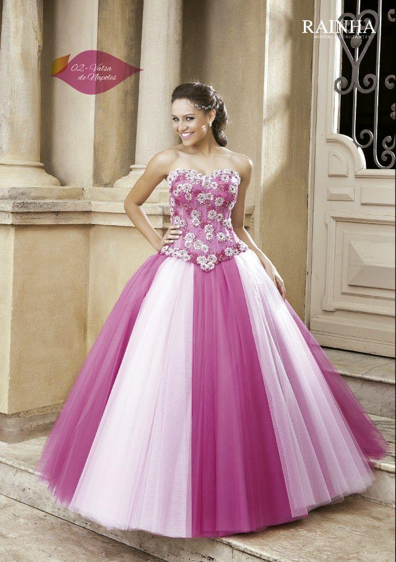 21 -3655 8628: vestidos debutantes - Magé - lindos vestidos para ...