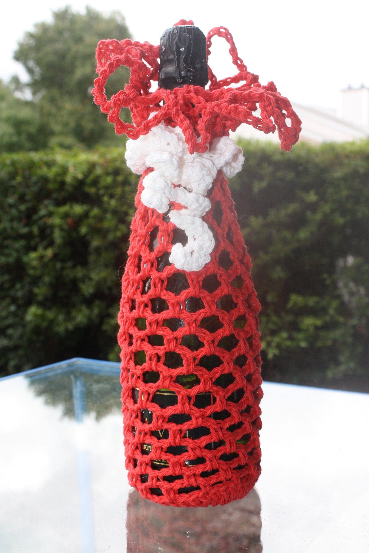 Crochet Wine Bottle Gift Bag Wine Bottle Holder Crochet Wine Bottle Holder Wine Bag Crochet Wine Gift Bag Christmas Wine Gift Bag Wine Bottle Gift Bag Christmas Wine Gift Bag Wine