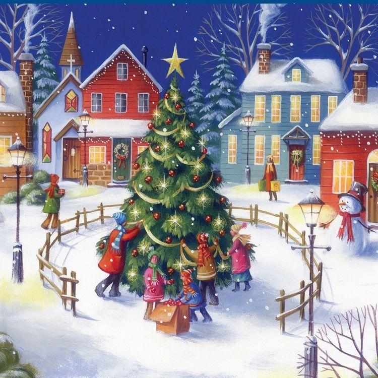 Картинки зима в городе для детей, мира картинки