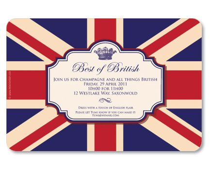 Best Of British Invite British Party Invitations Royal Garden Party