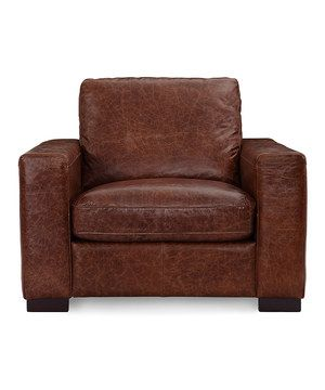 The classically modern Cooper series brings clean lines with squared-off seats and back cushions. This elegant, timeless armchair will turn heads at a cocktail party and is comfortable enough to spend a movie night on.
