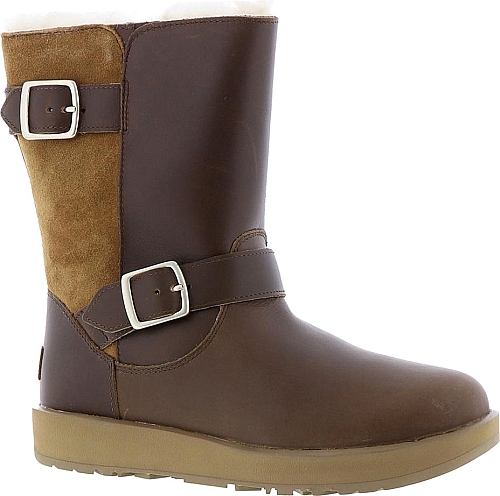 7c6a8af369d UGG Breida Waterproof Women's Brown Boot. Shake up your cold-weather ...