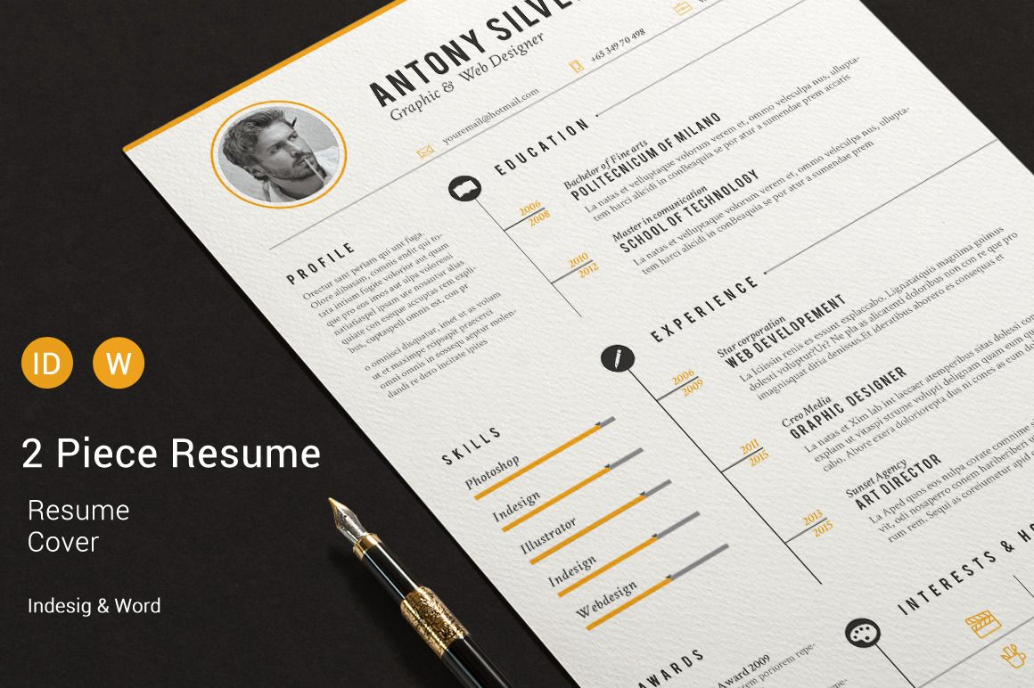 30 Sexy Resume Templates Guaranteed to Get You Hired Template and