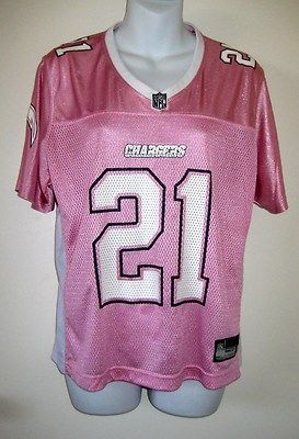 pink chargers jersey