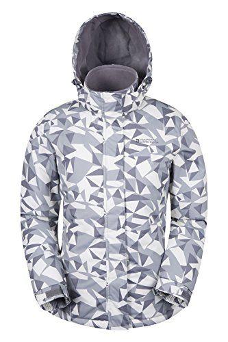2d3bc39b1c Mountain Warehouse Womens Dawn Snowproof Warm Printed Ski Jacket ...