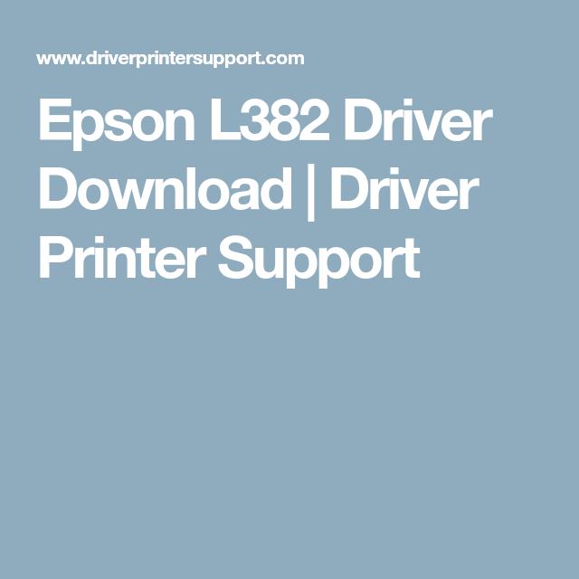 epson l382 driver