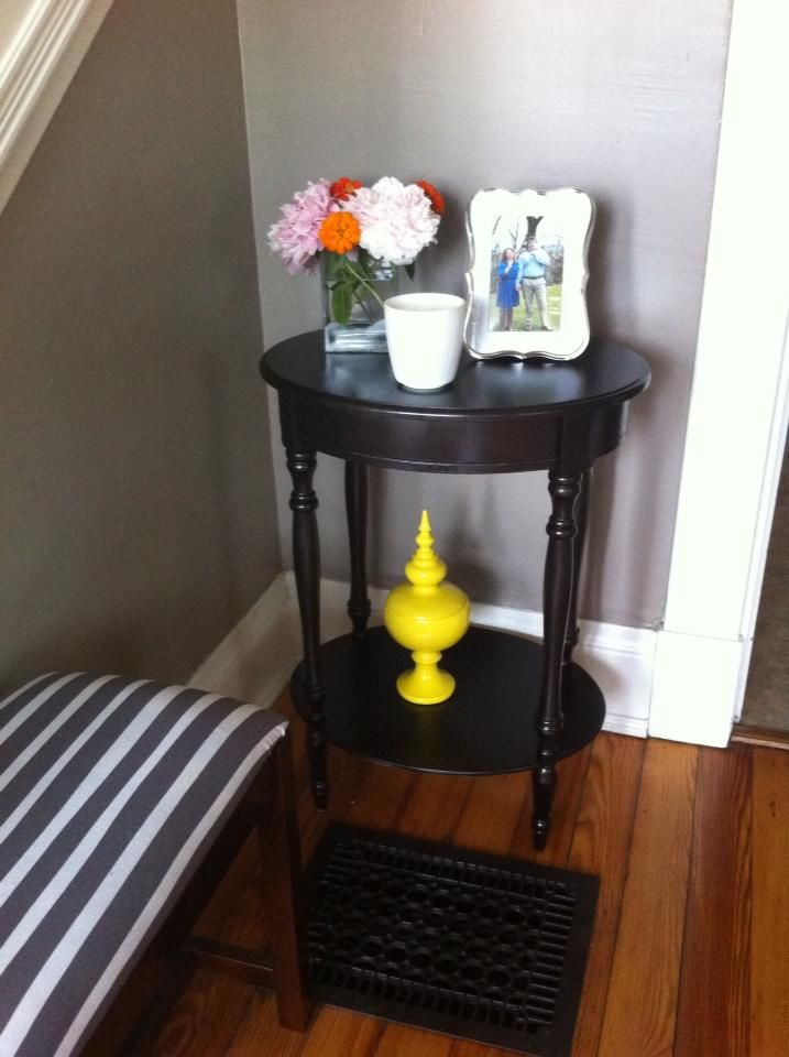 Table Homegoods And Antique Floor Grates Refreshed With Rustoleum Oil Rubbed Bronze Spray Paint One Of Antique Flooring Home Goods Oil Rubbed Bronze Paint