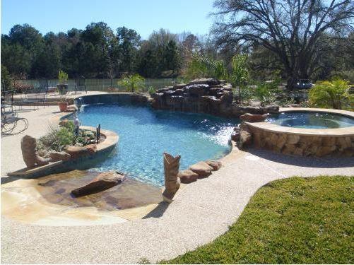 Lagoon Style Pool Designs Custom Freeform Pools Backyard Oasis