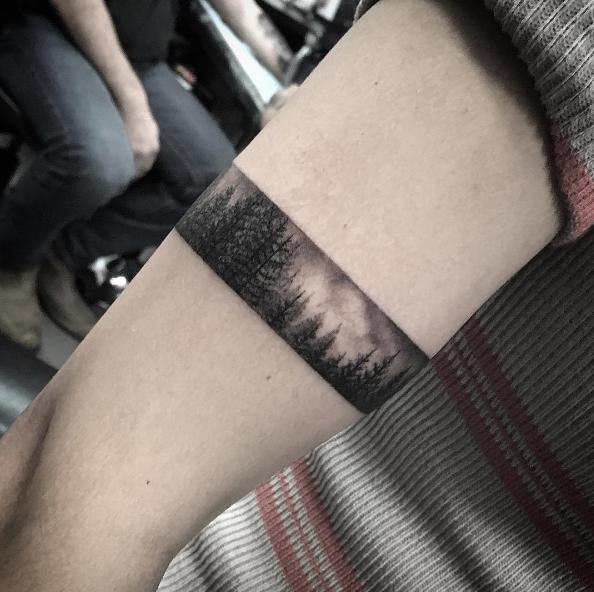 40 Stylish Armband Tattoos For Men Women Tatoos Arm Band