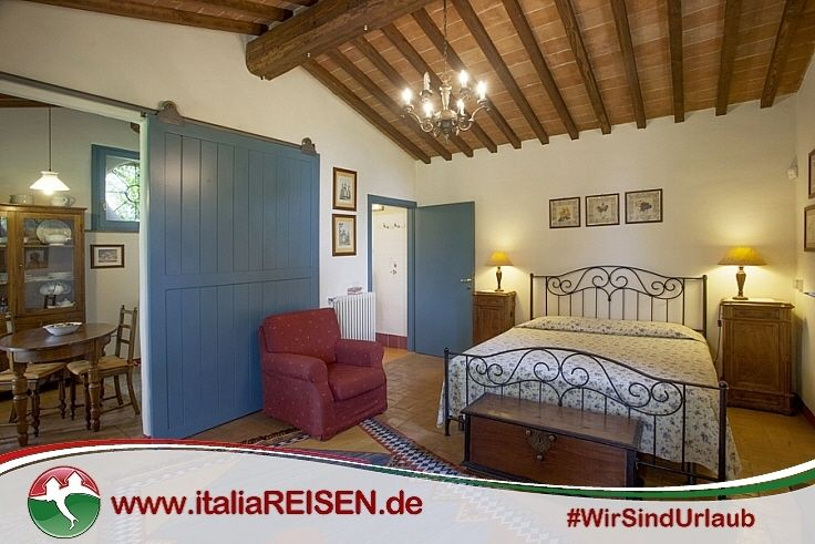 Webcode: IT-CHPP Schlafzimmer, Toskana, Italien, Urlaub ...