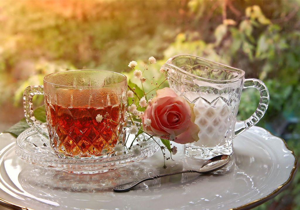 с чем попить чай с утра