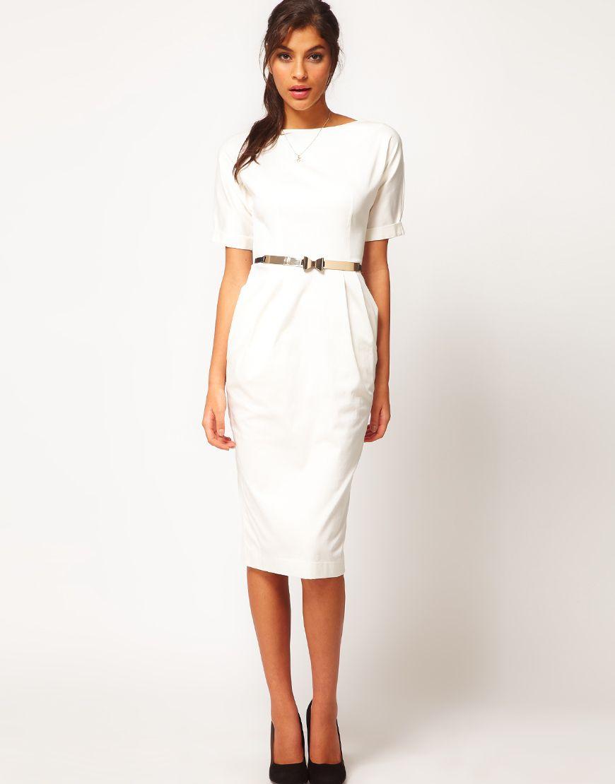 Pencil Dress In Wiggle Shape | wishlist | Pinterest | Dressing gown ...