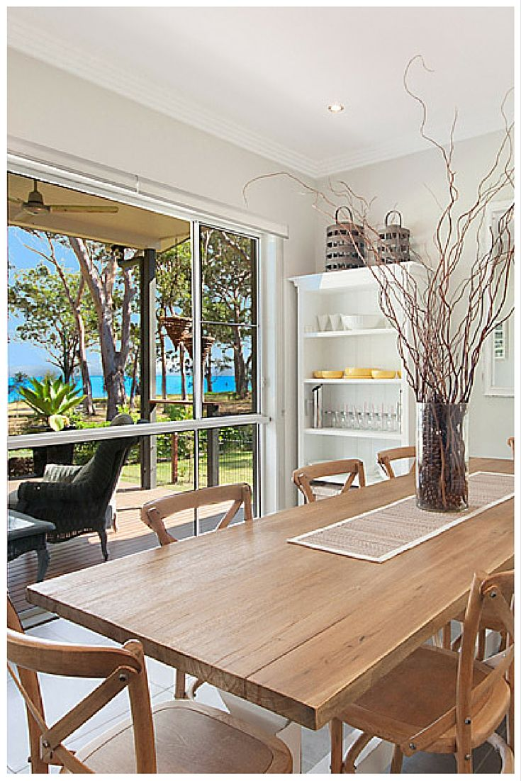 Sliding windows for homes - Wideline Sliding Window Captures The Beautiful View Outside This Dining Room Home By Crighton Homes