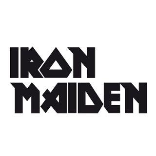 Moon City Music Iron Maiden Metal Band Logos Iron Maiden Band Stickers