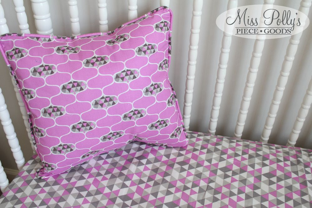 Custom baby bedding in Elixir by Miss Polly's Piece Goods~~