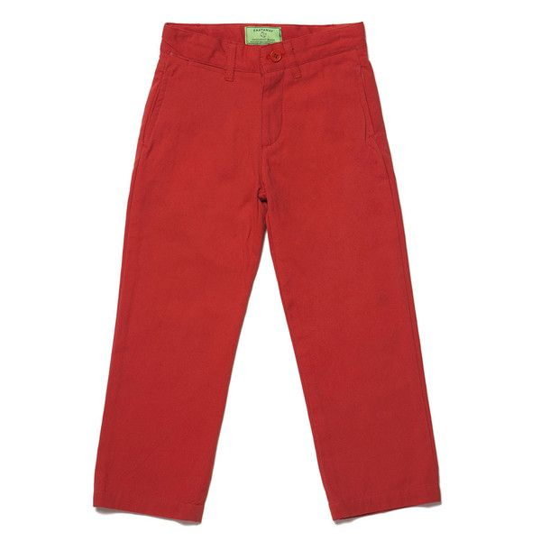 PORT PANT ISLAND RED