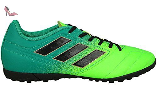 Adidas Ace 17.4 Tf, pour les Chaussures de Formation de Football Homme, Vert  (