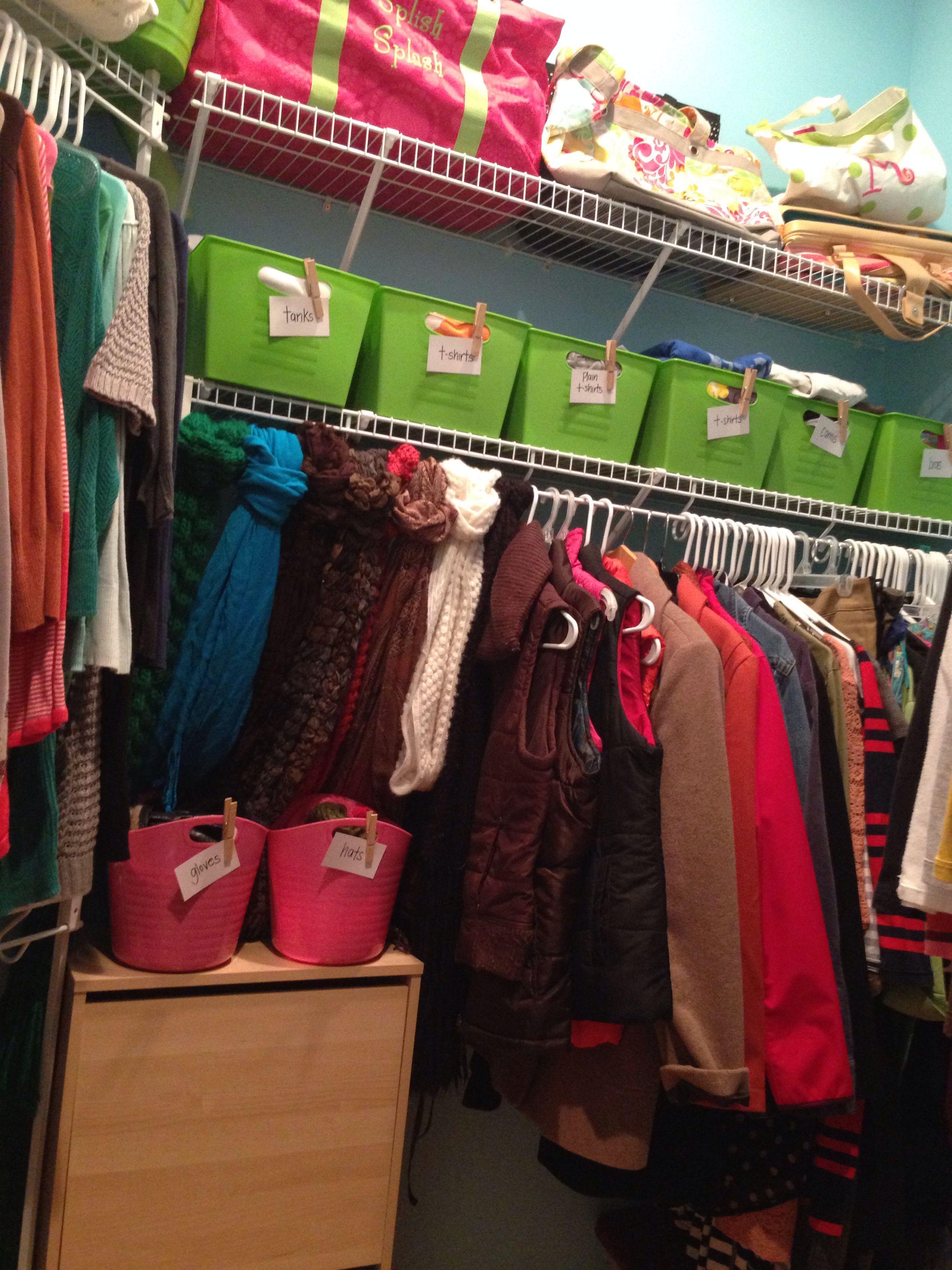 Dollar Tree Closet Organization Bedroom Organization Storage Apartment Closet Organization Organization Bedroom