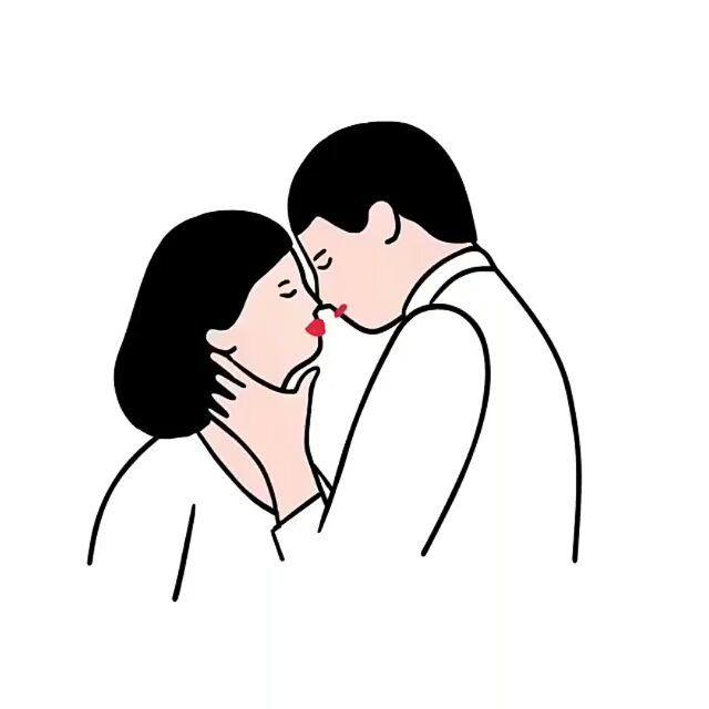Un Beso De Buenas Noches Un Beso De Buenos Días Un Beso Que Me Rescate El Alma Y La Devuelva A La Vida El Beso E Arte De Ilustración Dibujos