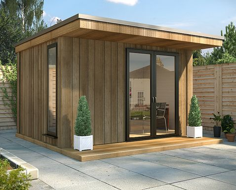 Garden Buildings which are BUILT TO LAST™, Fully Insulated, and Zero Maintenance