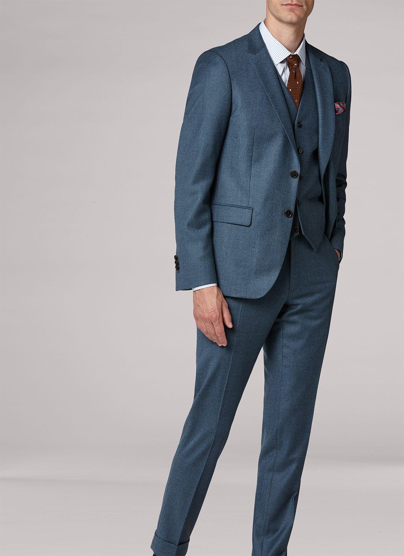 73e6b33bca Costume bleu persan - caviar 18HC3IDAG-MC24 38 - Costume Homme in ...