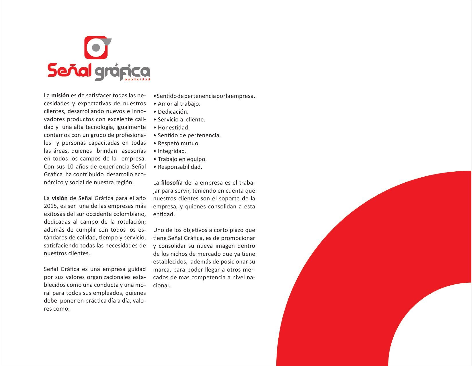 ISSUU - manual de identidada corporativa señal grafica de Stiven bastidas