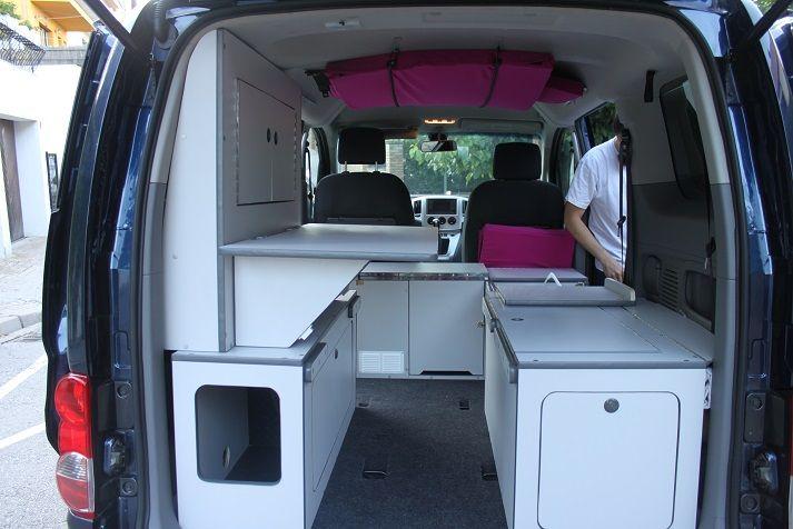 nissan nv 200 camper edition berlingot camper. Black Bedroom Furniture Sets. Home Design Ideas
