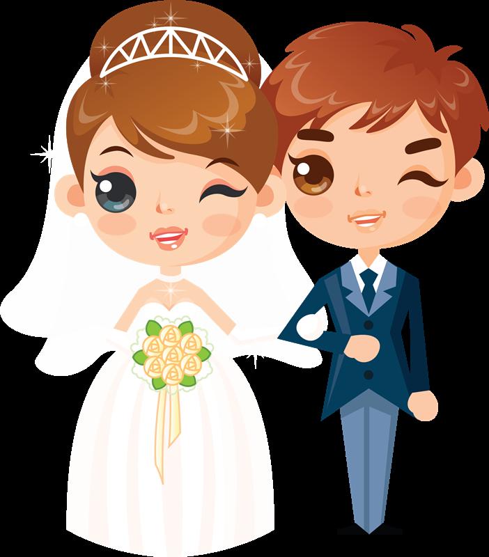 Мультяшные картинки про свадьбу