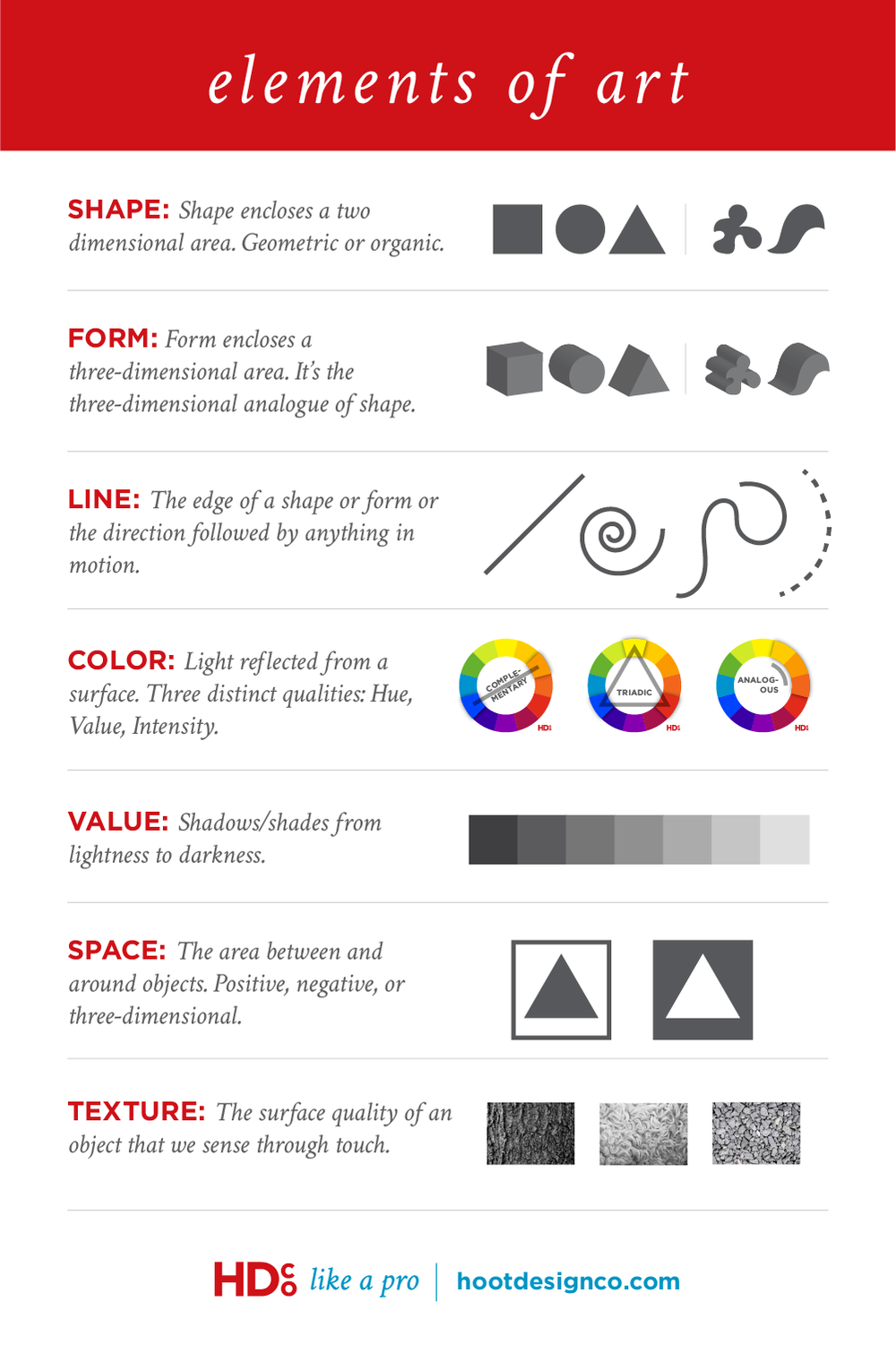 The Elements Of Art Hoot Design Co Web Design Branding And Marketing In Columbia Mo In 2020 Web Design Quotes Web Design Web Design Tips