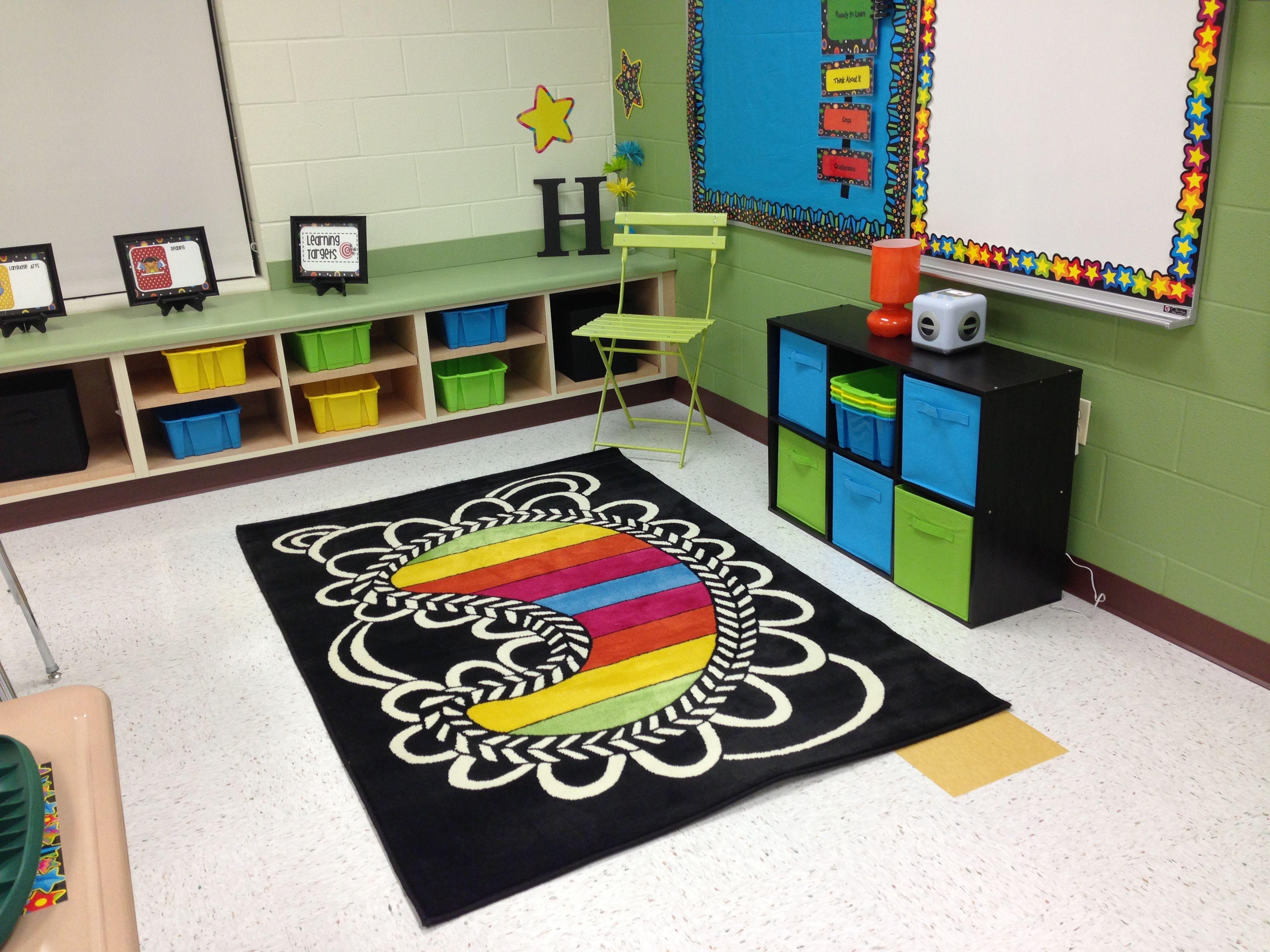 Classroom carpet area