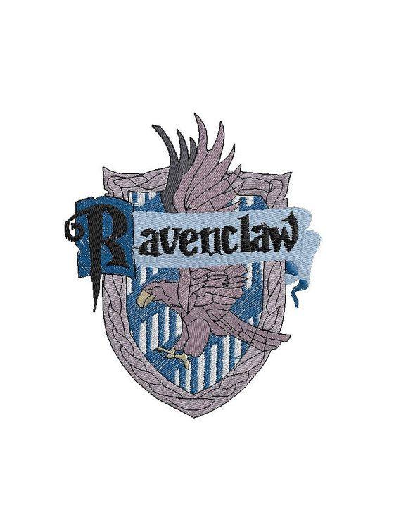 Ricamo Embroidery Stemma Corvonero Ravenclaw Crest Fandom